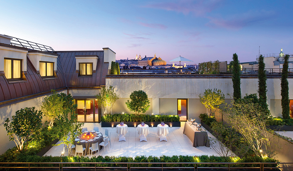 Mandarin oriental paris worldwide escapes for Design hotels south of france